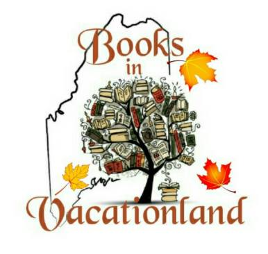 books in vacationland logo